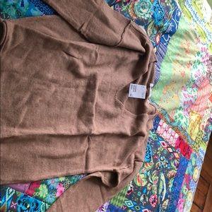 H & M Khaki light weight sweater size small